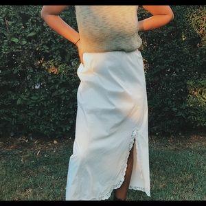 Dresses & Skirts - Vintage ankle length skirt